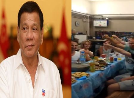Video: Despite the ICC and EU controversy, European people cheers for Duterte