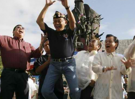 Uncovering the truth: What's the story behind the famous JUMP of Fidel V. Ramos?